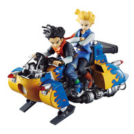 Desktop Real McCoy Dragon Ball Z Android No.17 & No.18 PVC Figure by MegaHouse