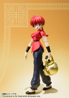 S.H.Figuarts Saotome Ranma Action Figure by BANDAI