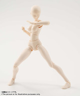 S.H.Figuarts Body-chan (Pale Orange Color Ver.) Action Figure