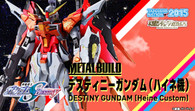 METAL BUILD Destiny Gundam SEED (Heine CUSTOM) Action Figure