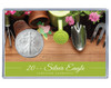 Mother's Day Silver Eagle Acrylic Display - Gardening Theme