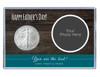 Father's Day Custom Photo Silver Eagle Acrylic Display