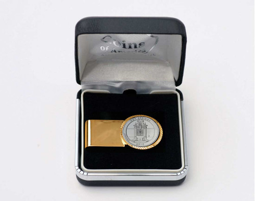 National Park Quarter Money Clip