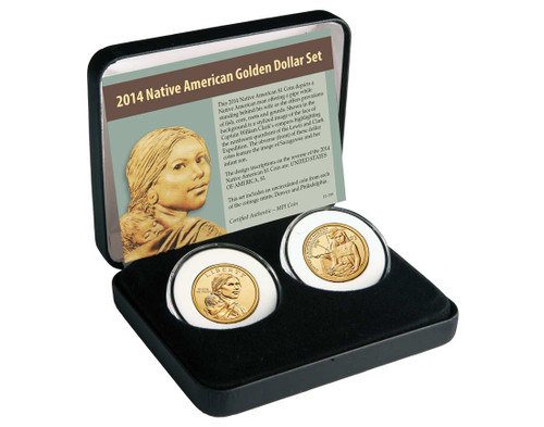 2014 Native American $ 2 Coin Set