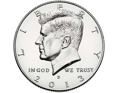 "2013 Kennedy Half Dollar ""D"" Roll"