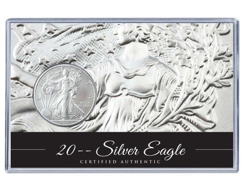 Silver Eagle Acrylic Display