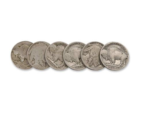 The Prairie-Teens Buffalo Nickel Collection 1913-1919