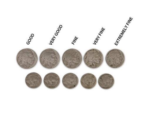 The Round Up-Buffalo Nickel Grading Set