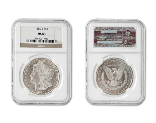 The Duke Collection-Certified MS63 Morgan Dollar