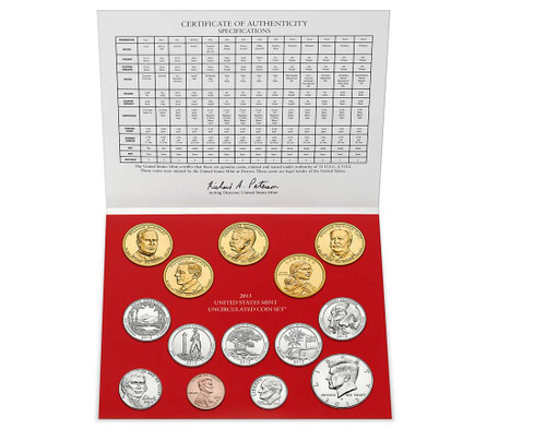 2013 US Mint Set