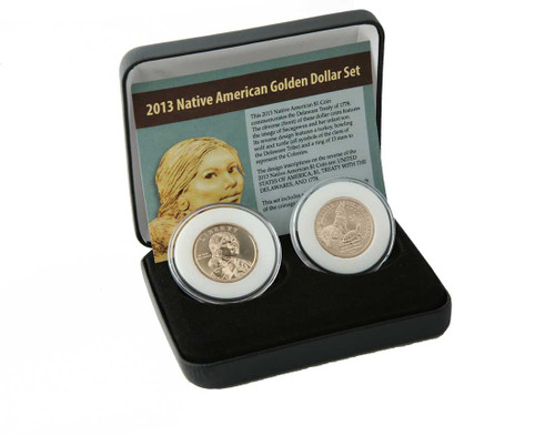2013 Native American $ 2 Coin Set