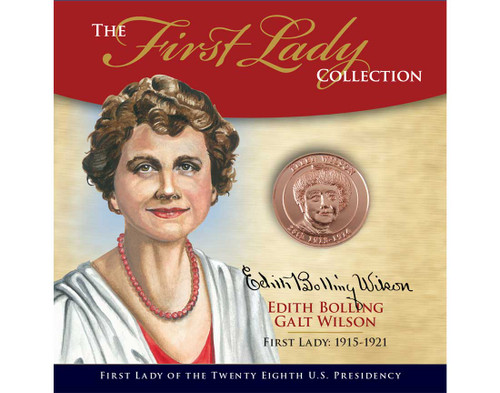 Edith Bollig Wilson First Lady Collection - 28th Presidency