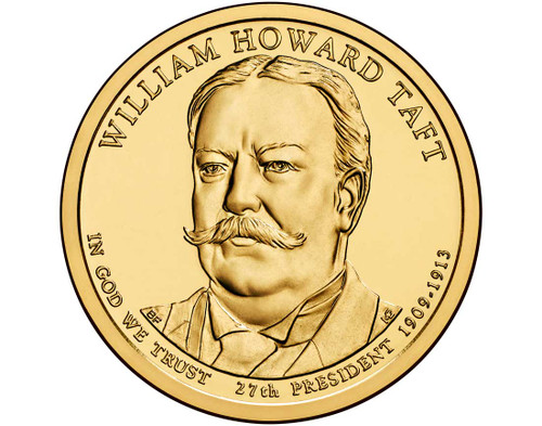 William Howard Taft $1 D Mint Single Coin