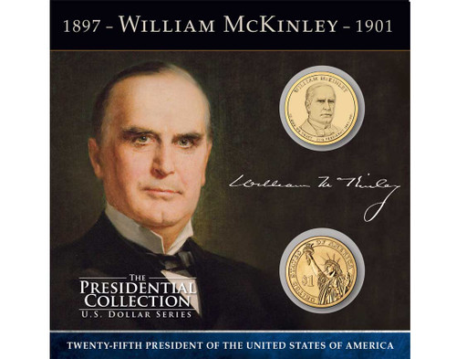 William McKinley $1 Coin Collection
