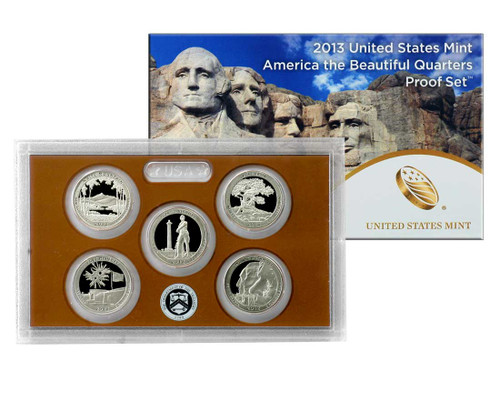 2013 Quarter Proof Set