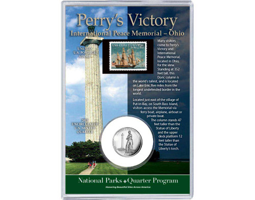 Perry's Victory and International Peace Memorial Coin & Stamp Set