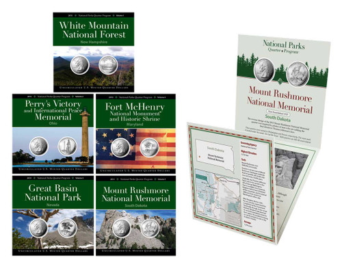 2013 National Park Quarter Annual Pack