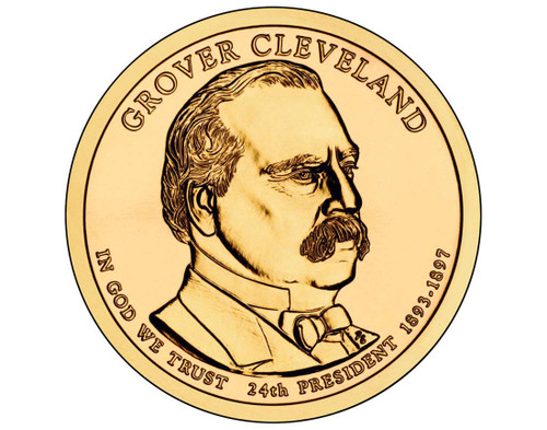 Grover Cleveland $1 P Mint Single Coin - 24th