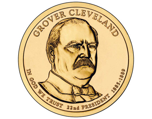 Grover Cleveland $1 P Mint Single Coin - 22nd