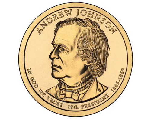 Andrew Johnson $1 D Mint Single Coin