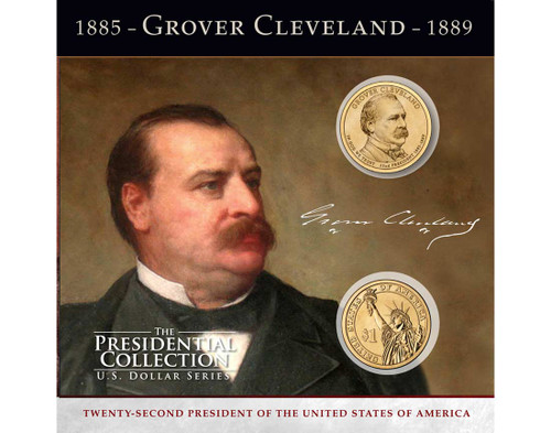 Grover Cleveland $1 Coin Collection - 22nd Presidency