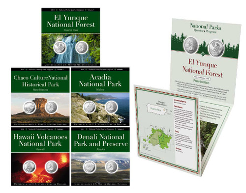 2012 National Park Quarter Annual Pack