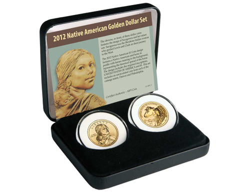 2012 Native American $ 2 Coin Set