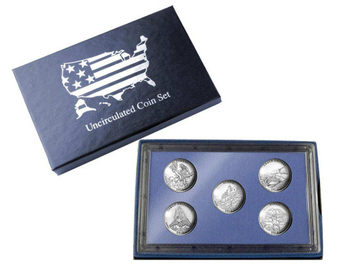 2012 Five Quarter Uncirculated Set