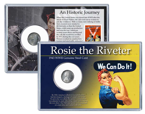 Rosie the Riveter Coin Set