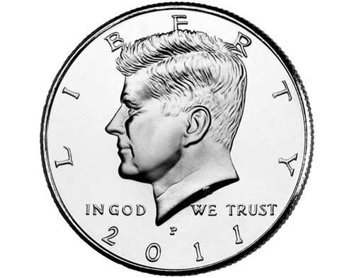 "2011 Kennedy Half Dollar ""P"" Roll"
