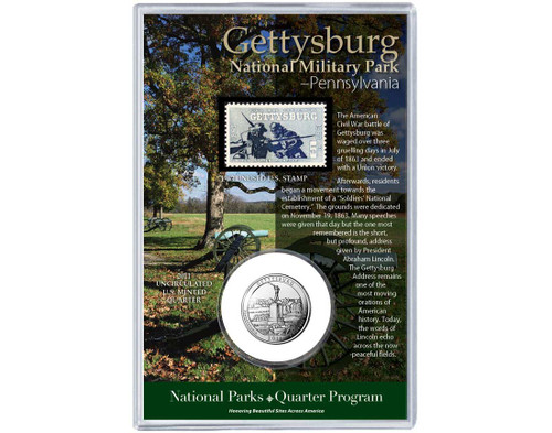 Gettysburg National Military Park Coin & Stamp
