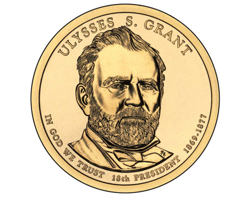 Ulysses S Grant $1 P Mint Single Coin