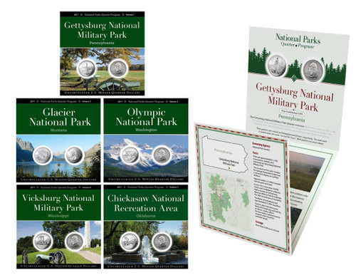2011 National Park Quarter Annual Pack