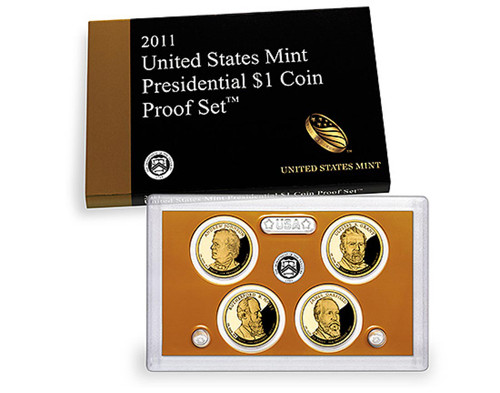 2011 Presidential $1 Coin Proof Set
