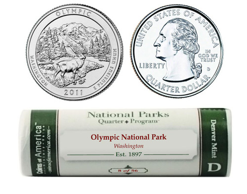Olympic D Mint Quarter Roll