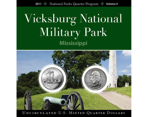 Vicksburg Nat'l Military Park Quarter Collection