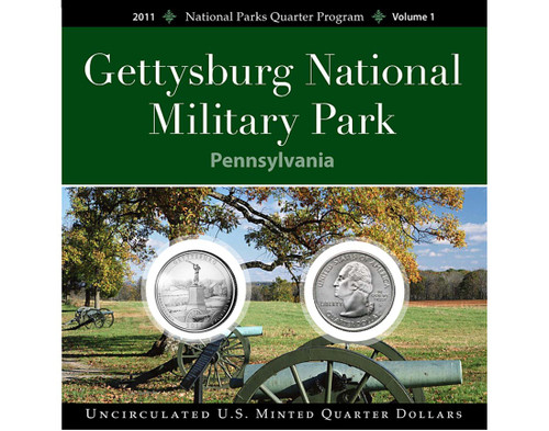 Gettysburg Nat'l Military Park Quarter Collection