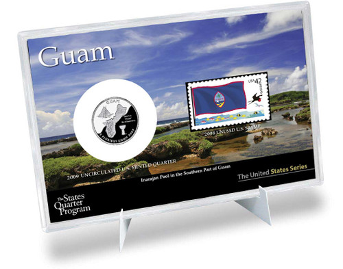 Guam State Quarter & Stamp Set