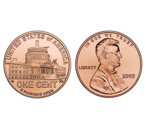 2009 Lincoln Presidency P Mint Cent