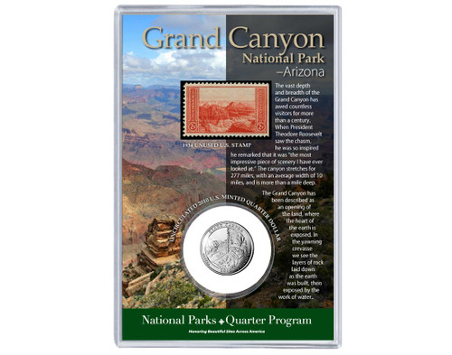 Grand Canyon National Park AZ Coin & Stamp