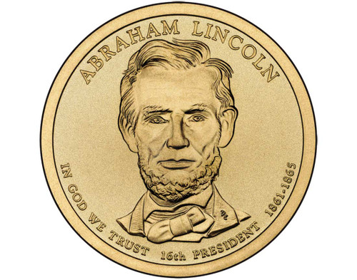 Abraham Lincoln $1 P Mint Single Coin