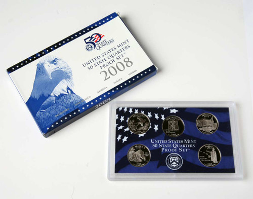 2008 Quarter Proof Set