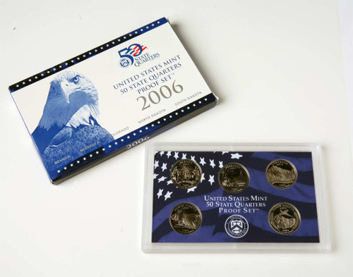2006 Quarter Proof Set