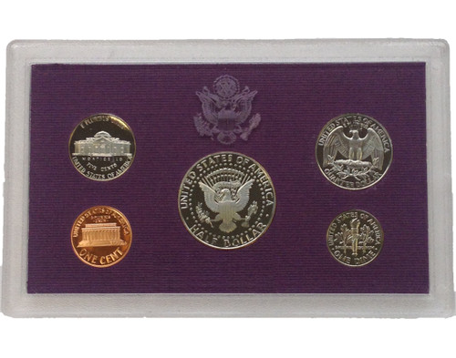 1990 United States Proof Set Coins Of America