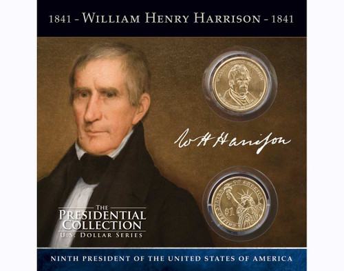 William Henry Harrison $1 Coin Collection