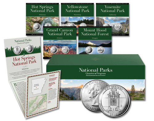 National Parks Quarter Club Membership - Complete Set