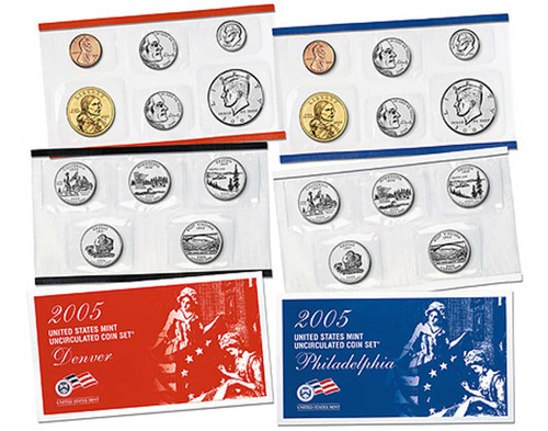 2005 US Mint Set