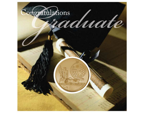 Graduation Coin Card