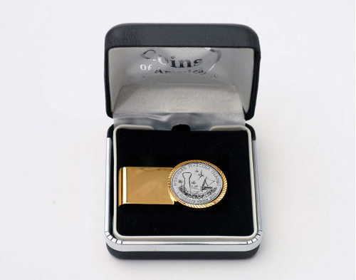 N. Mariana Islands Quarter Money Clip