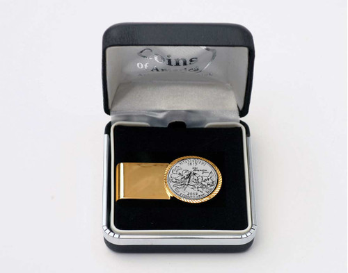Mississippi Quarter Money Clip